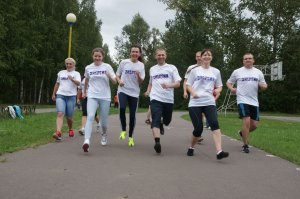 «Осенний марафон-2016»: сплочение позитивом и общением