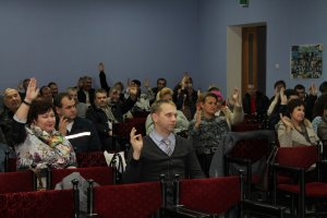 Отчетно-выборная конференция: председатель профкома переизбран