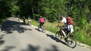 Велопробег до Нижнего Сатиса